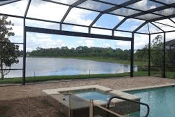 Panoramic Screened Pool Pool Enclosures Patio Screen