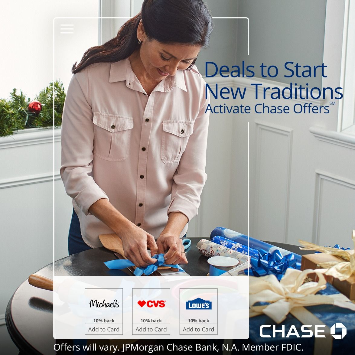 Activate chase offers online or in the chase mobile app