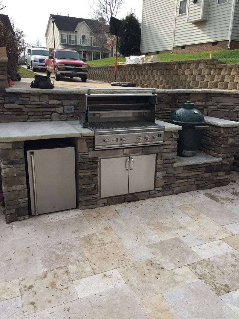 27 Extraordinary Outdoor Kitchen With Smoker To Inspire Outdoor Kitchen Outdoor Bbq Kitchen Build Outdoor Kitchen