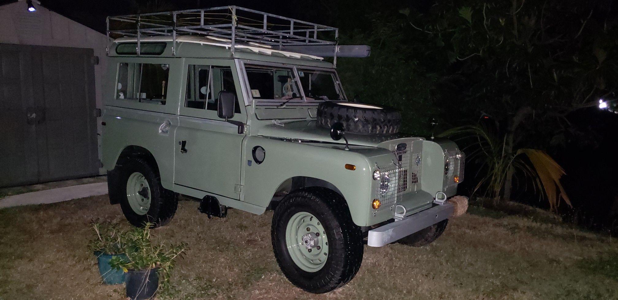 Safari Mode Land Rover Series Land Rover Thats Not My