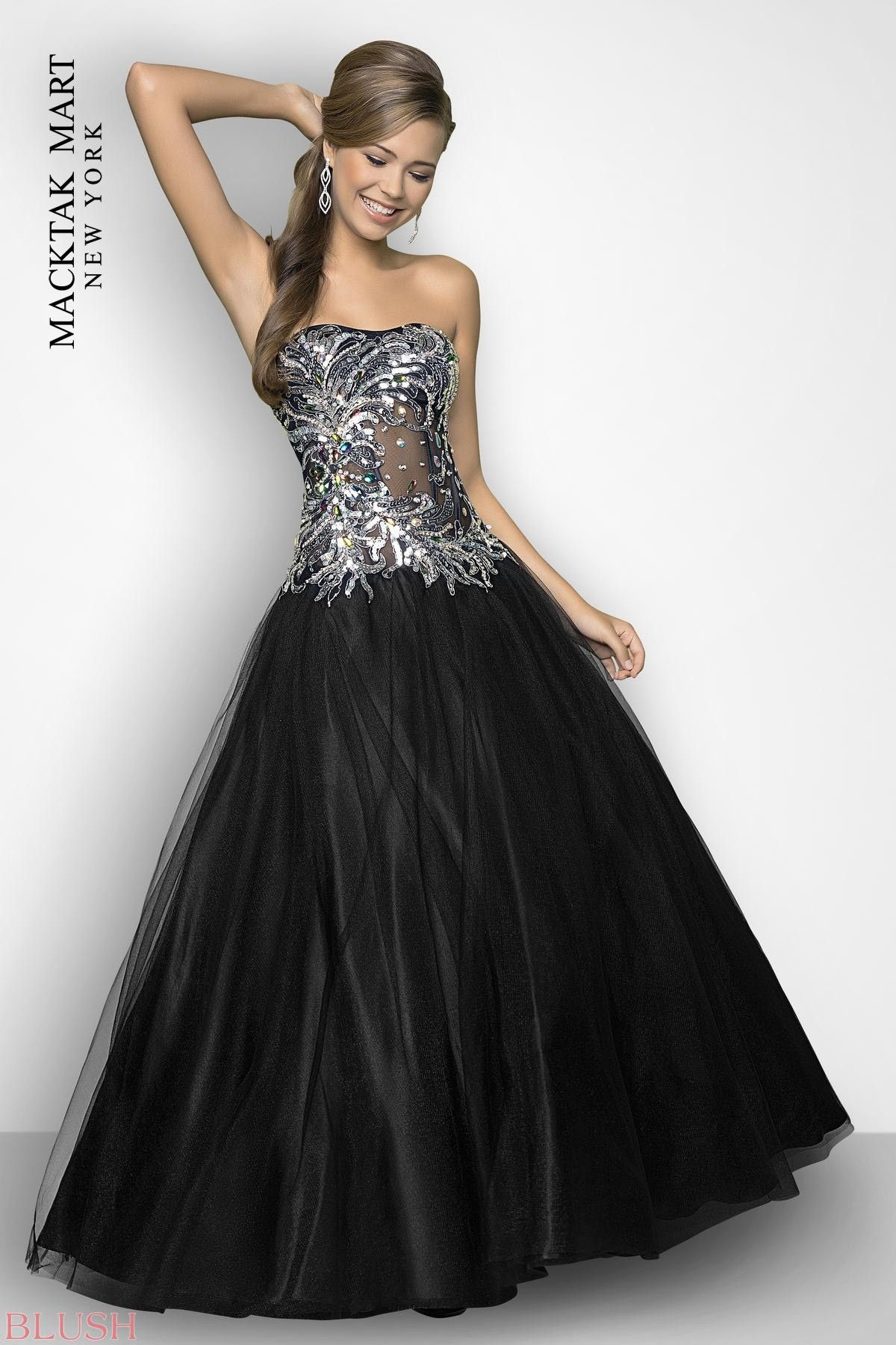 Blush dress now noches estelares