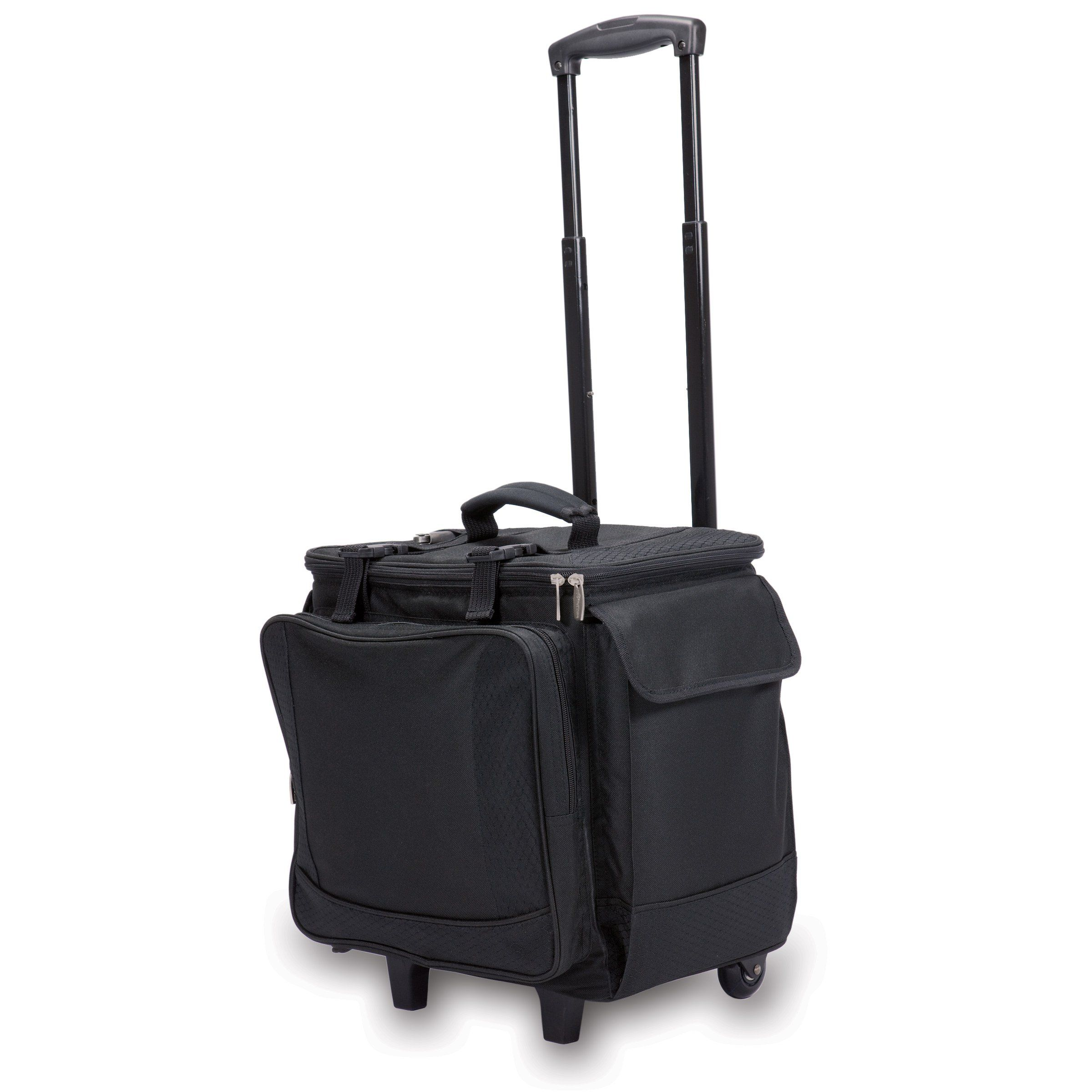 Legacy A Picnic Time Brand Bodega Insulated 12bottle Wine Tote With Integrated Trolley Find Out More About Th Wine Tote Wine Travel Bag Wine Carrying Case
