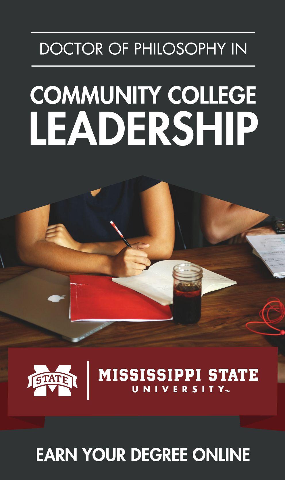 Mississippi State's Ph.D. degree program in Community