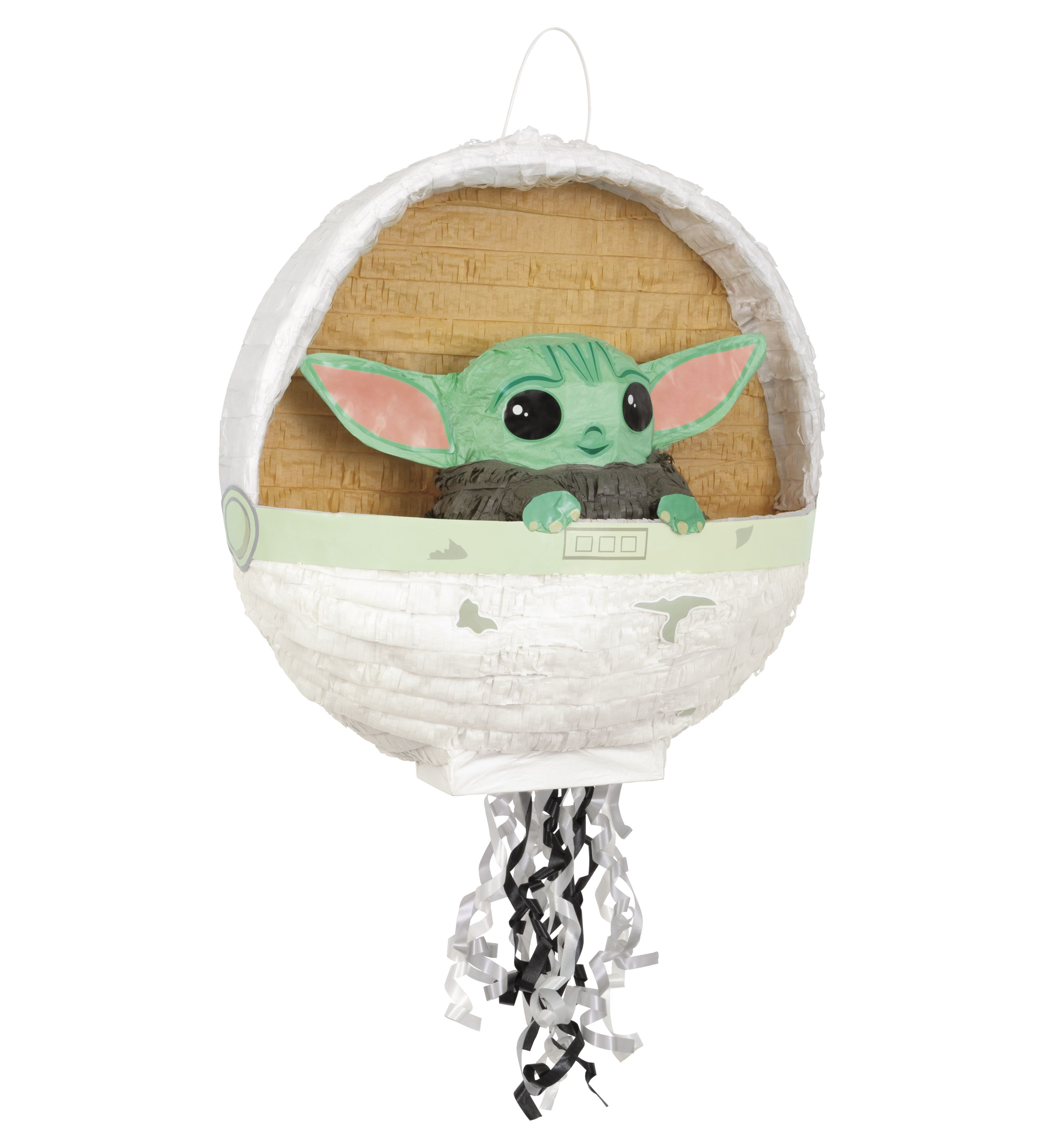 Star Wars Mandalorian the Child 9th Birthday Party Supplies Baby Yoda Balloon...