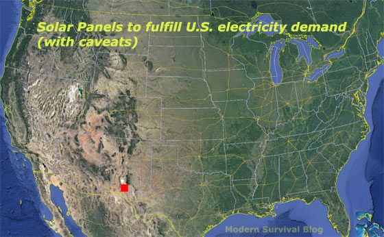 Amazing Map Total Solar Panels To Power The United States Solar Energy What Is Solar Energy Renewable Solar