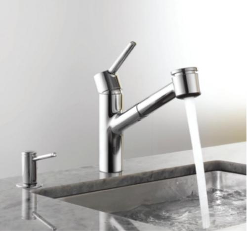 New Sleek Kitchen Faucet From KWC | Homeland | Pinterest | Kitchen ...