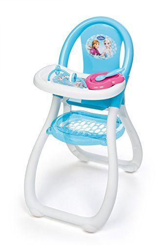 Smoby 240204 La Reine Des Neiges Frozen Chaise Haut Chaise Haute Accessoires Pour Poupees Idee Deco Chambre Bebe Fille