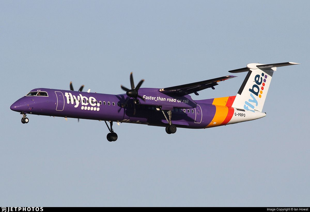Photo Of G Prpo Bombardier Dash 8 Q402 Flybe Canadian Design Dash Photo