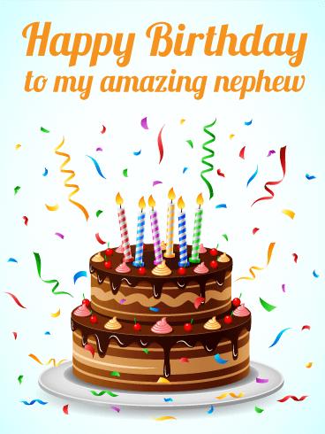 Happy Birthday Nephew Animated : happy, birthday, nephew, animated, Amazing, Nephew, Happy, Birthday, Greeting, Cards, Davia, Nephew,, Greetings