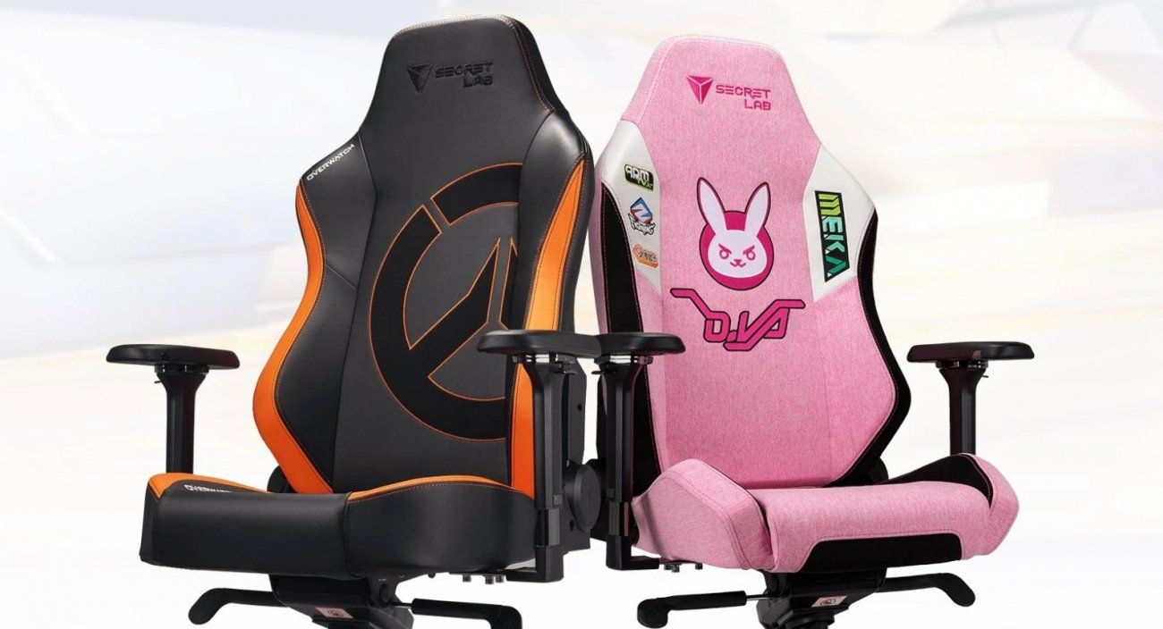 Secretlab Unveils New Overwatch Themed Gaming Chairs Gaming Chair Overwatch Head Pillow