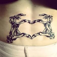 Image result for skeleton hand tattoo on shoulder