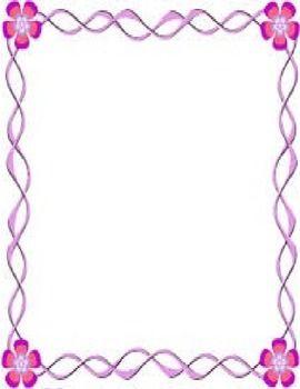 Pink border | Teachers Tools | Frame border design, Frame, Border design