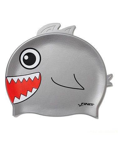 8563fe3ac7b Take a look at this Animal Heads Shark Swim Cap by FINIS on #zulily today!