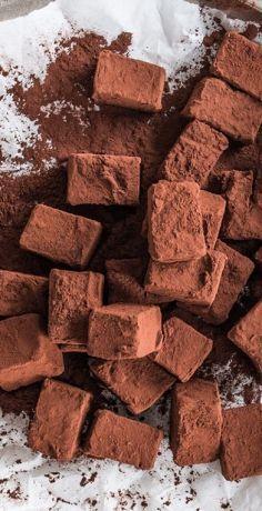 Lebkuchen-Nougat Pralinen