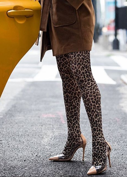 0c110e041650 Calzedonia Animalier Tight - 12,95€ #theradicalblog #tights #fall #fall18  #outfit #fashion #trend #collants #animalier #leopard