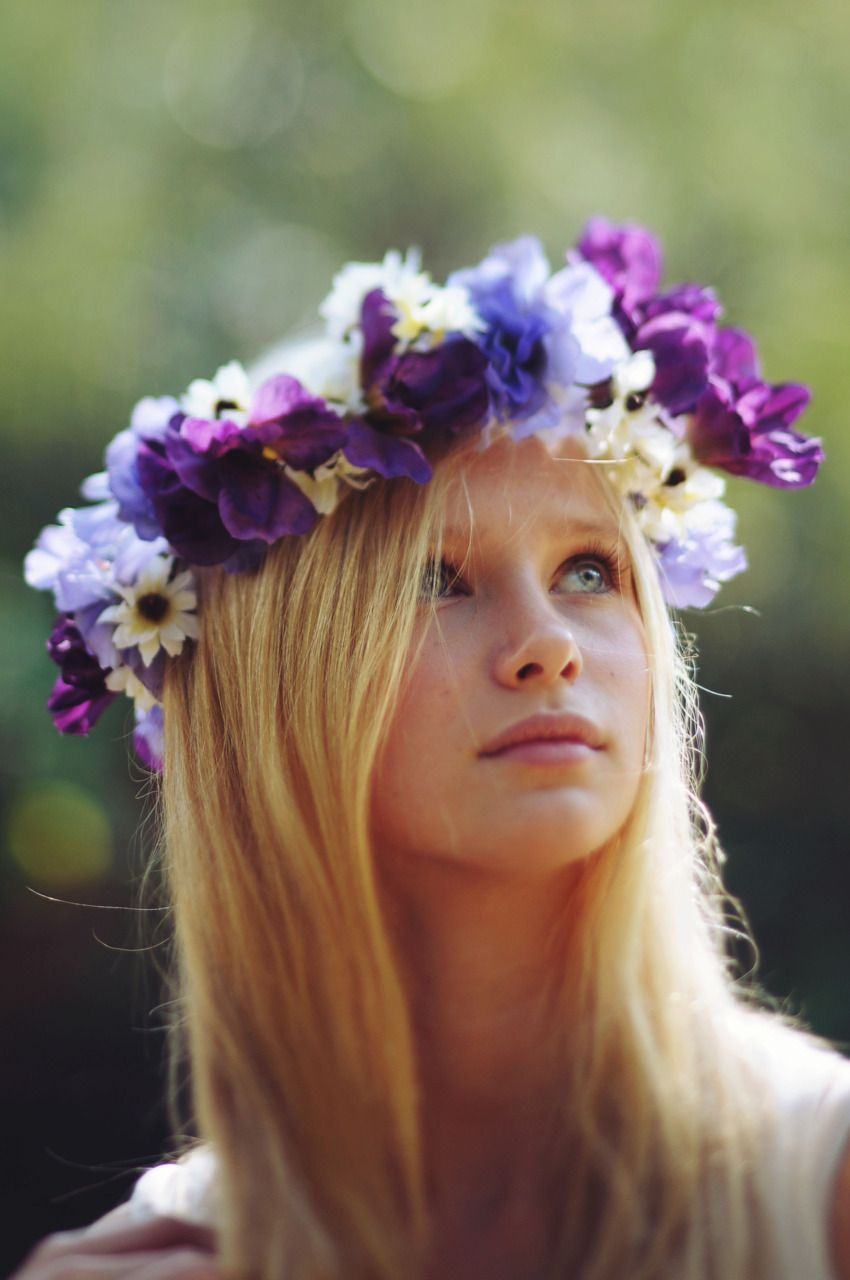 Flower crown hair beauty pinterest flower crown hairstyle make your hair nice with this beautiful flower crown izmirmasajfo