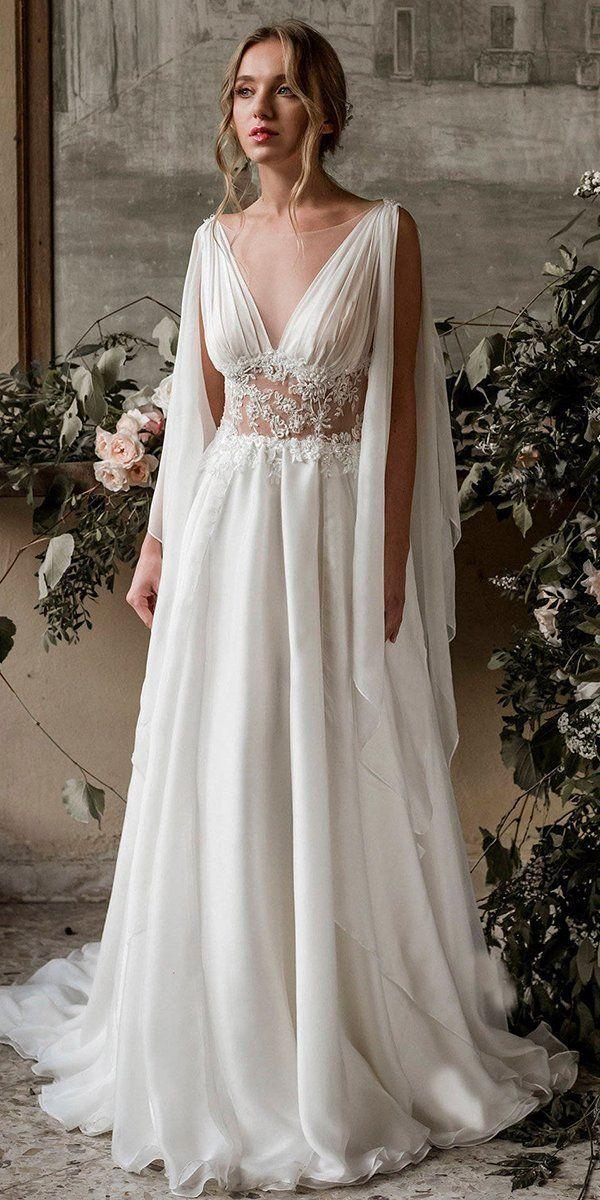 21 Top Greek Wedding Dresses For Glamorous Look | Wedding Forward