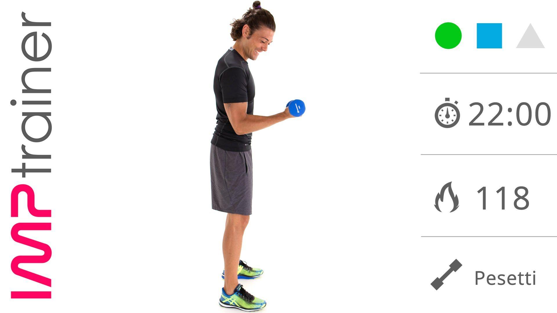esercizi per snellire braccia e tonoco