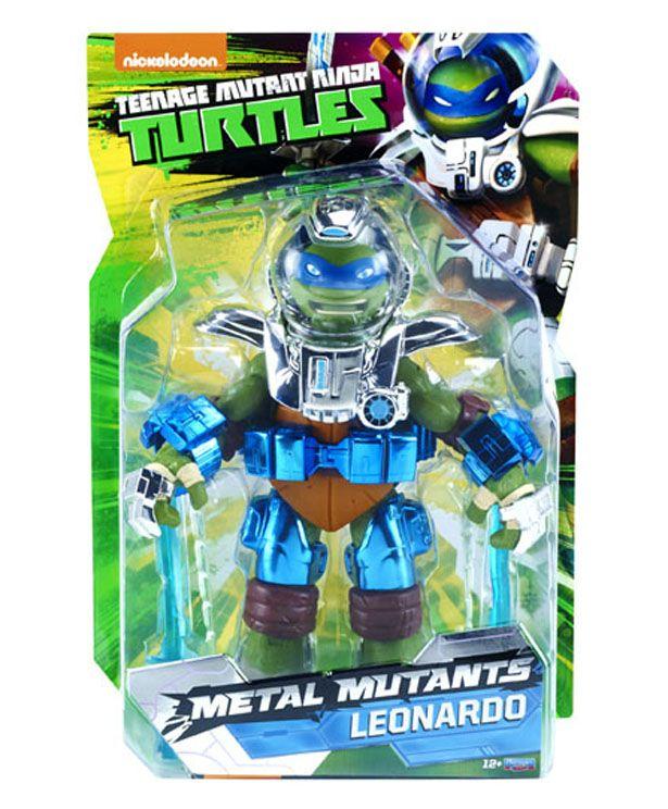 Playmates Unleashes Sdcc Exclusive Tmnt Metal Mutants Leonardo