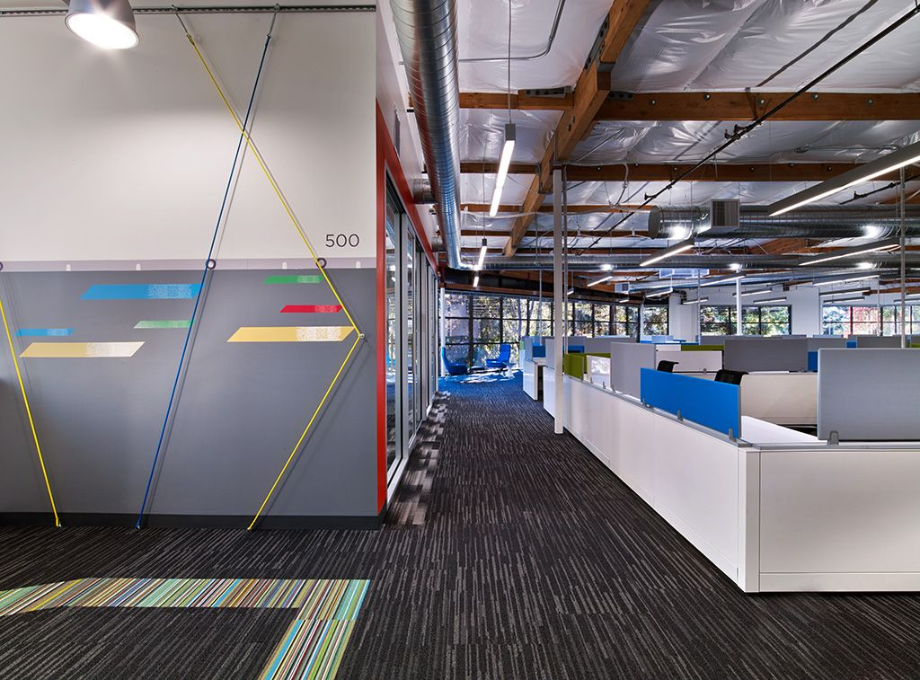 Renovation Of Two Existing Buildings At Google S Mountain