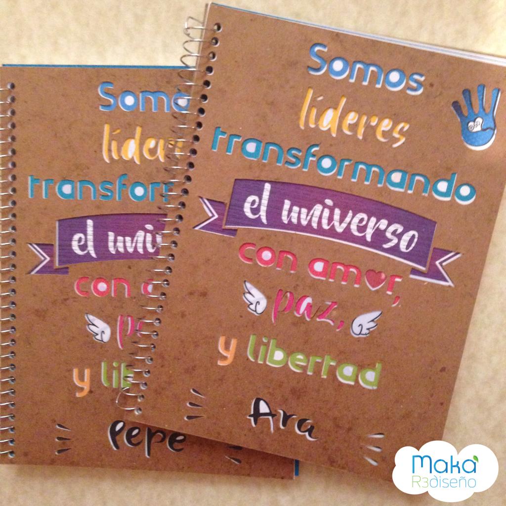 Cuadernos con visión 4'ss