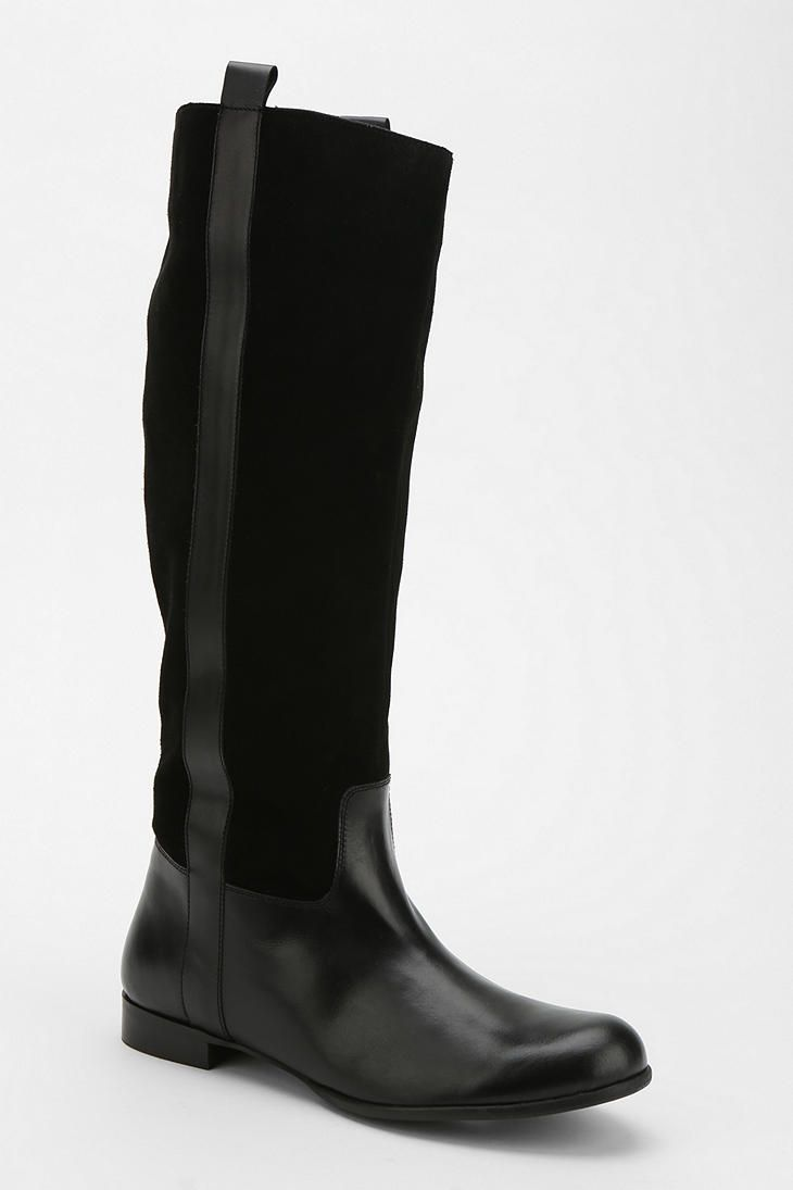 these shoes broke my heart. 12/6/13. BDG Mixed Panel Riding Boot