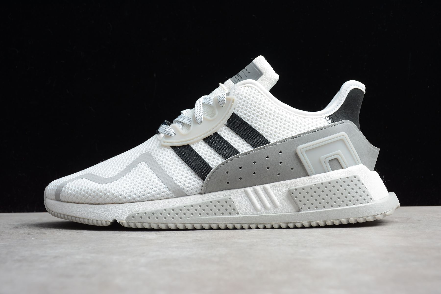 3abfc8ace 2018 UK FR Trainers ADIDAS EQUIPMENT EQT CUSHION ADV 91-17 White Black  BY9508