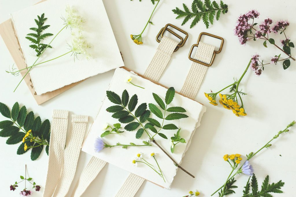 homebook: handmade | flower press