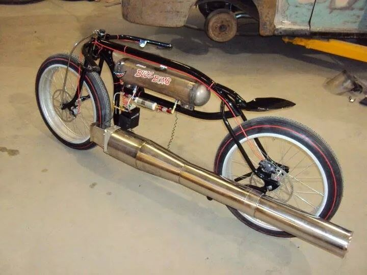 Pulse Jet Bike Jet Engine Bicycle Gear S