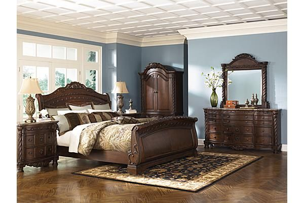 Beds North Shore Sleigh Bed Ashley Furniture Sleigh Bedroom Set Bedroom Sets Queen Ashley Furniture Bedroom