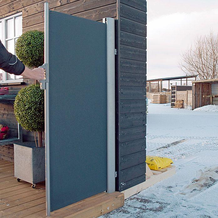 Mobiler Sichtschutz Alu Anthr 160x300cmsunfun Mobiler Sichtschutz Terrassen Ideen Garten Terrasse