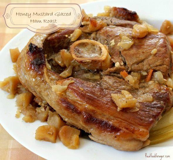 Fresh pork ham roast recipe