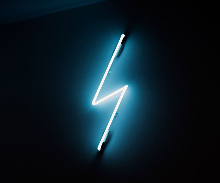 Lighting Bolt Neon