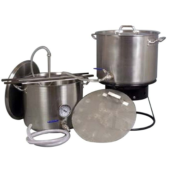10 Gallon All Grain Commercial Quality Kettle Kit All Grain Equipment Kits All Grain Brewing Winemaking Supplies All Grain Brewing
