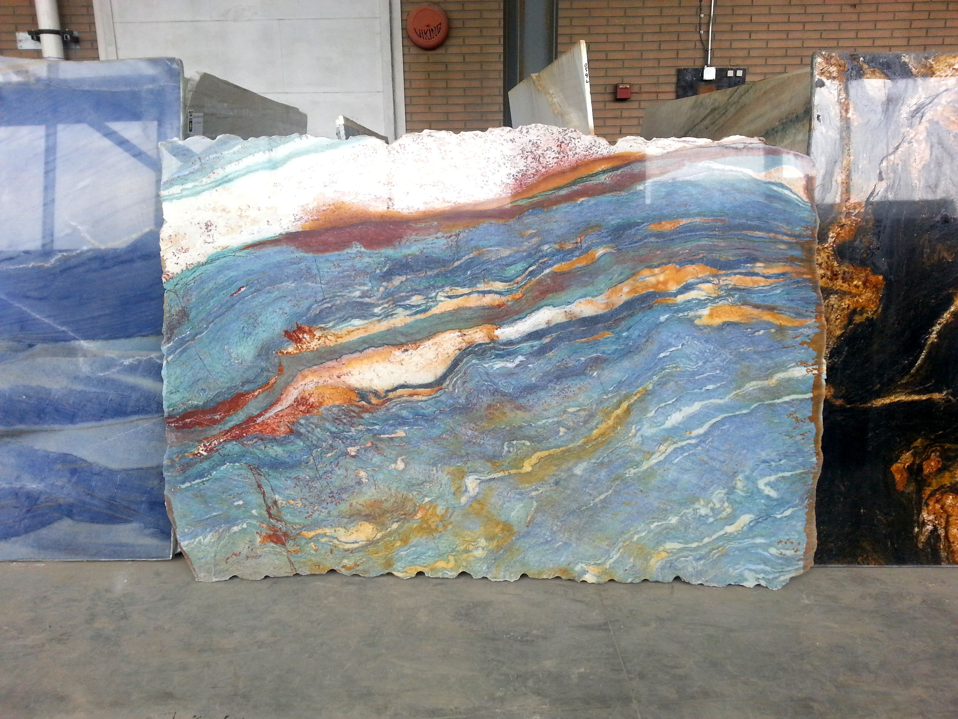 Van Gogh Granite Is One Of The Most Exclusive Natural