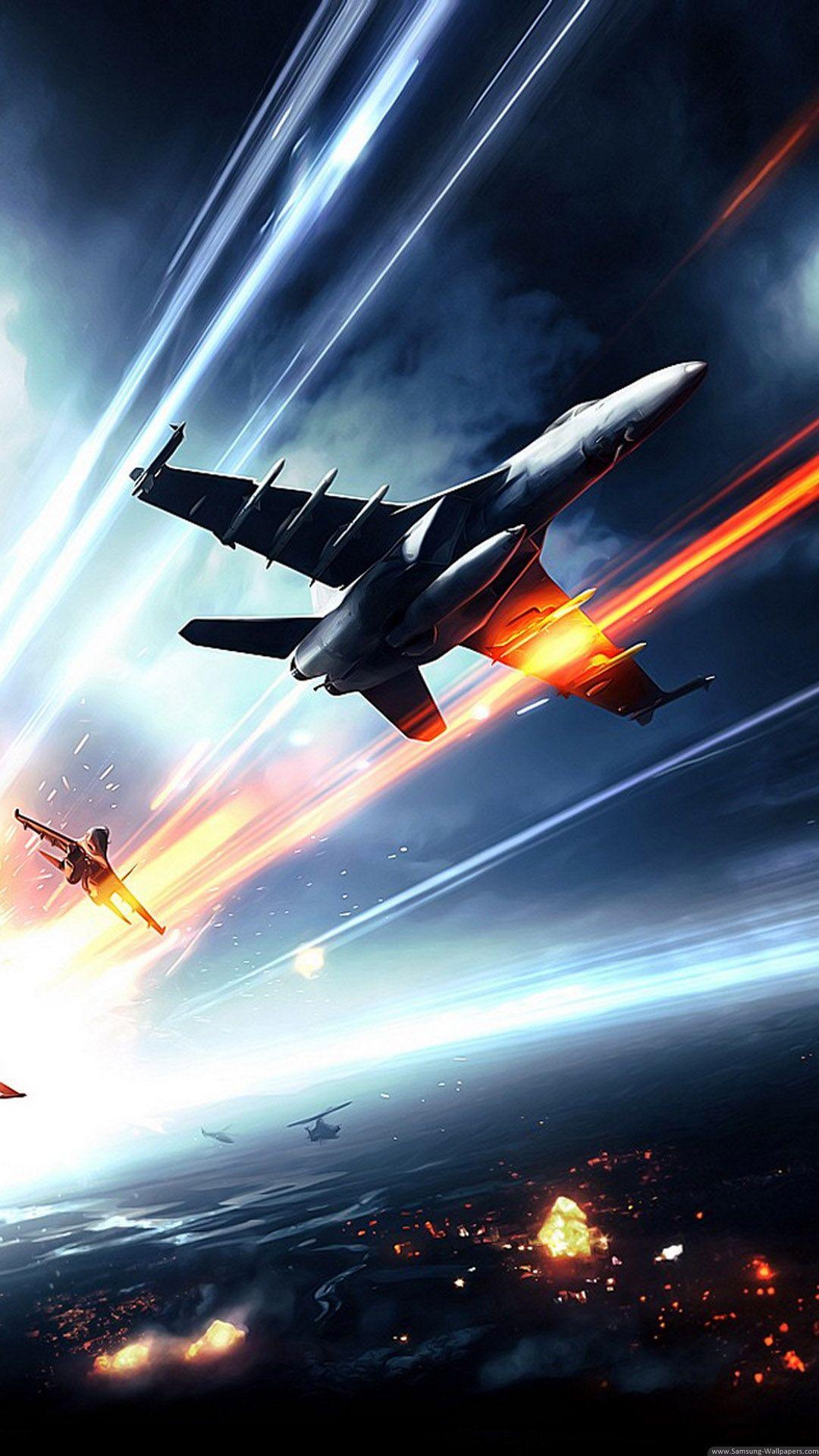 Battlefield 3 Jet Fighters Iphone 6 Plus Hd Wallpaper Phone