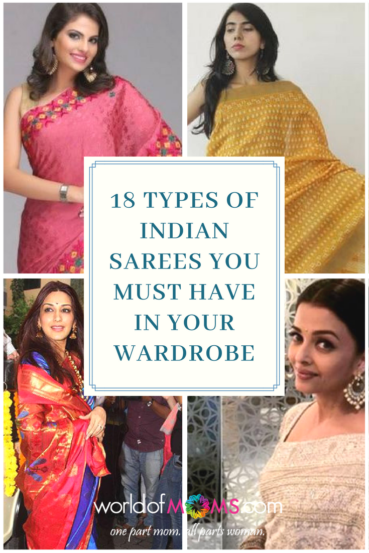 4aa39f492f 18 Types of Indian Sarees You MUST Have in Your Wardrobe! #sarees #indian  #fashion #beautiful #variety #wardrobe #ethnic #indian-wear #traditional  #grace # ...