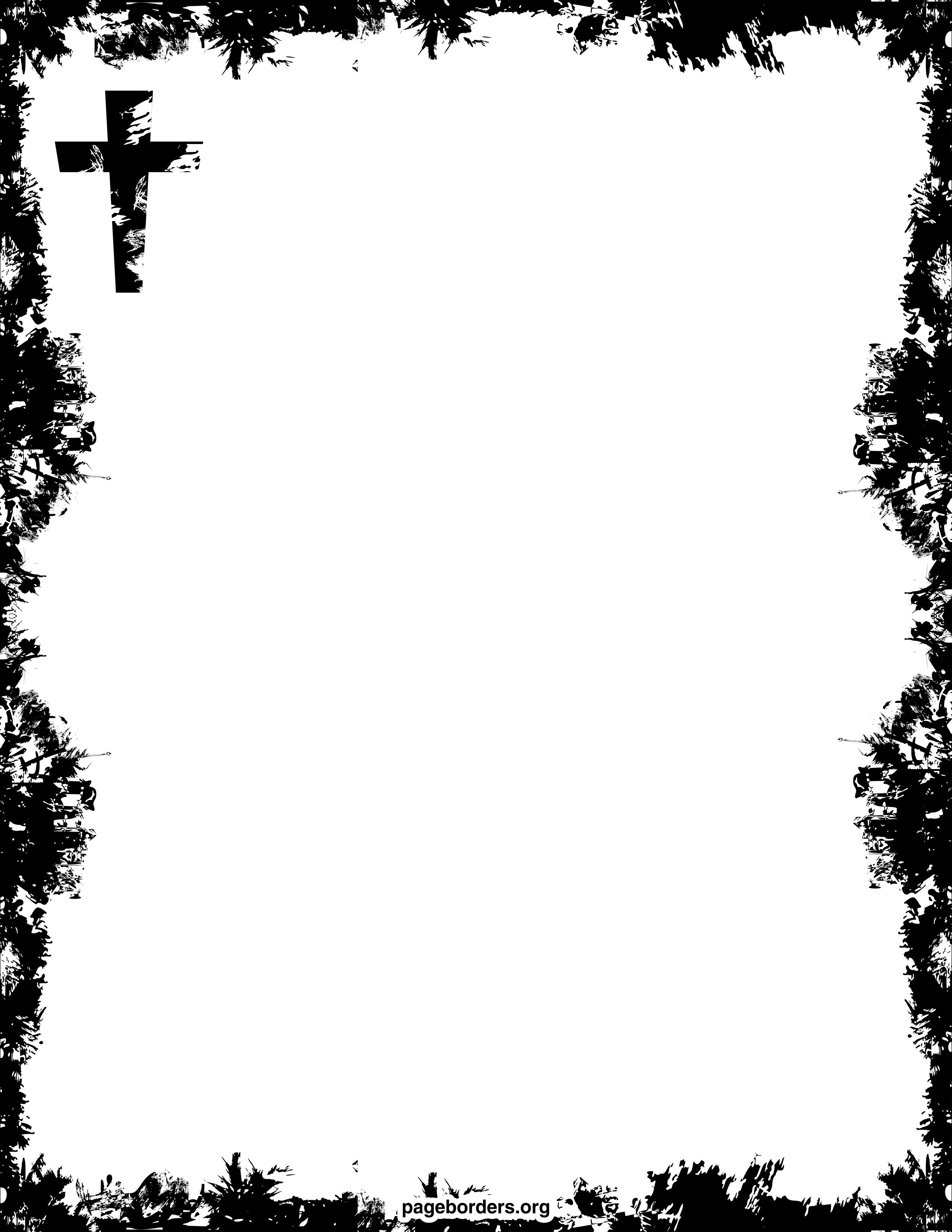 free religious borders clip art page borders and vector graphics [ 2550 x 3300 Pixel ]
