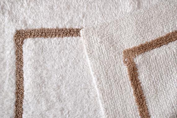 White Soft Kitchen Rug Small Rug Bath Mat Bedroom Rug Machine