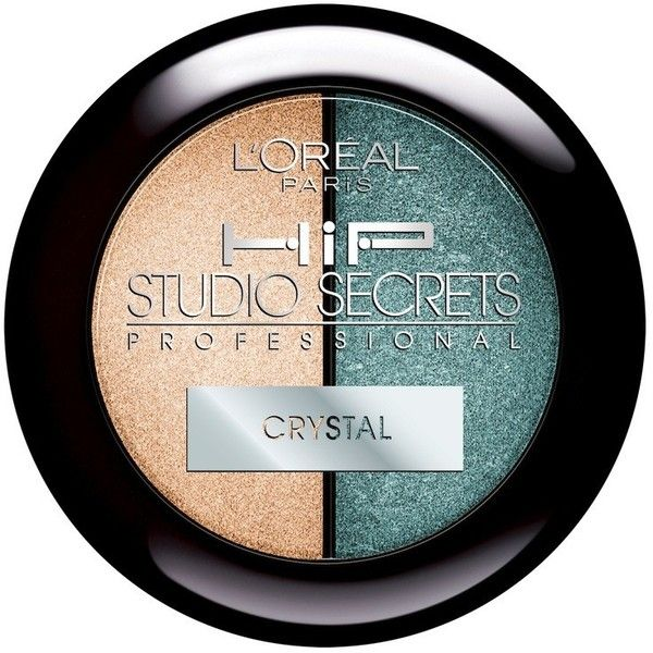 HiP Studio Secrets™ Professional Crystal Shadow Duos Mystical ❤ liked on Polyvore featuring beauty products, makeup and beauty
