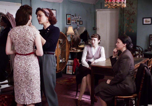 I Just Started Watching The Bletchley Circle On Netflix And It S Fantastic Am Absolutely In Love With Millies Apartment