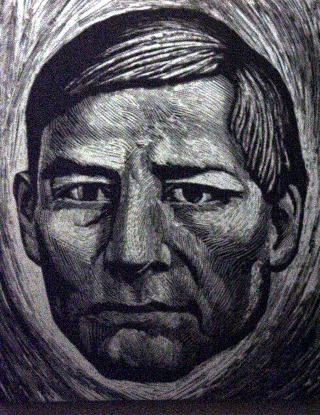 Benito Jurez Grabado de Leopoldo Mndez  GRABADOS Y LITOGRAFAS