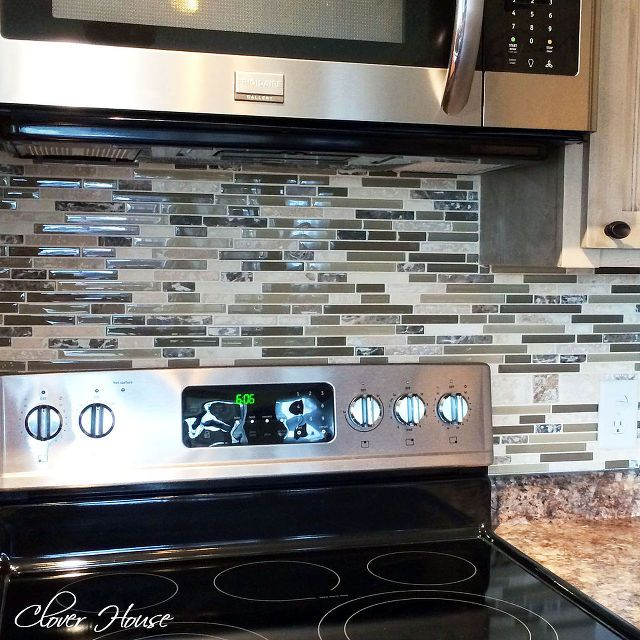 diy mosaic tile backsplash, diy, how to, kitchen backsplash, kitchen design, tiling
