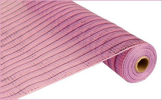 Pink Lavender Purple Wide Poly Mesh Roll Poly by wreathsbyrobin See more at: https://www.etsy.com/shop/wreathsbyrobin