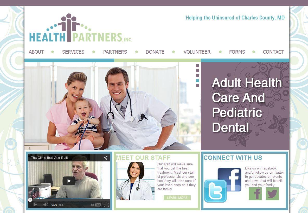 Balancelogic Recently Redesigned Health Partner S Website This Fully Custom Website Features Extensive Information Pediatric Dental Pediatrics Coding Websites