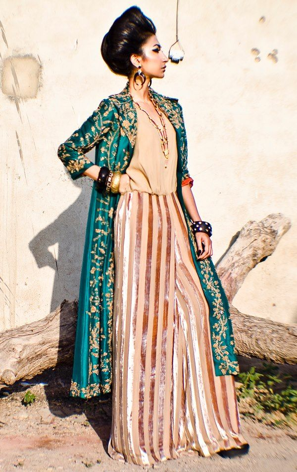 213f2dbd9c Love the jacket and jumpsuit combo. Love the jacket and jumpsuit combo Pakistani  Wedding Dresses ...