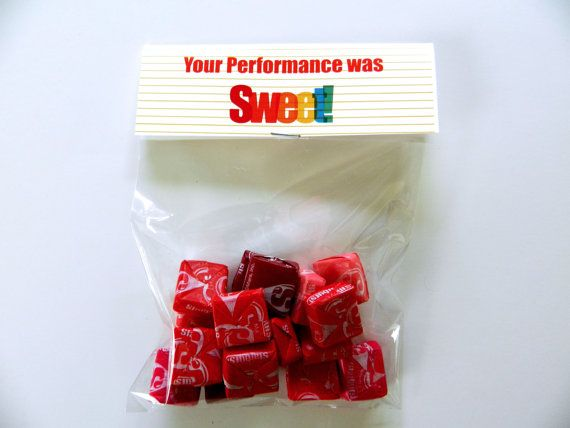 Congratulations Goody Bag Tag, Instant Printable Download, CandyTreat Label for School, Performances, Recitals