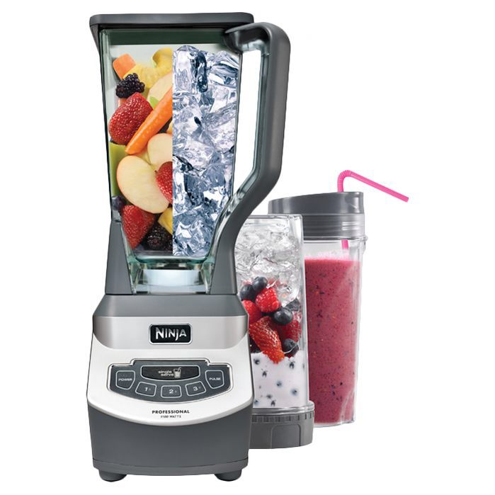 Ninja Professional Blender With 2 16 Oz Nutri Ninja Cups