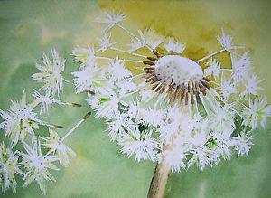 Acrylic Painting Pusteblume Abstrakte Malerei Malerei Abstrakt