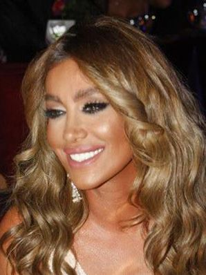 Maya Diab Beauty Face Hair Color Arab Beauty